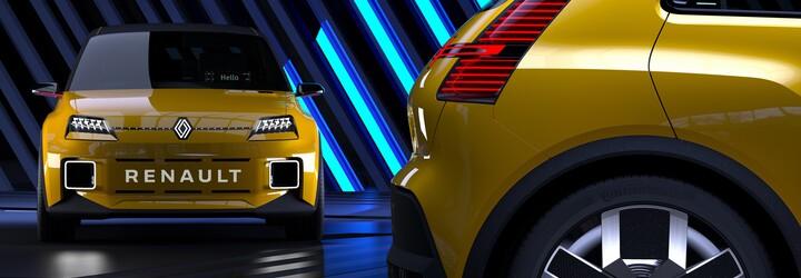 Renault ukázal své nové retro logo. Symbolizuje budoucnost, která má být moderní a technologická