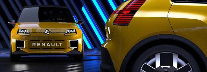 V rámci naplánovanej modelovej ofenzívy sa vráti slávny Renault 5. Ako atraktívny elektromobil