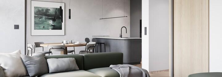 Výnimočnosť ukrytá v detailoch alebo moderné bývanie s akcentom prírodných materiálov z Prahy