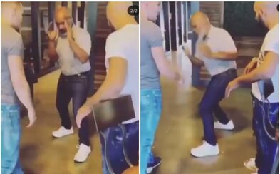 53letý Mike Tyson předvádí bleskové údery před bojovníkem UFC