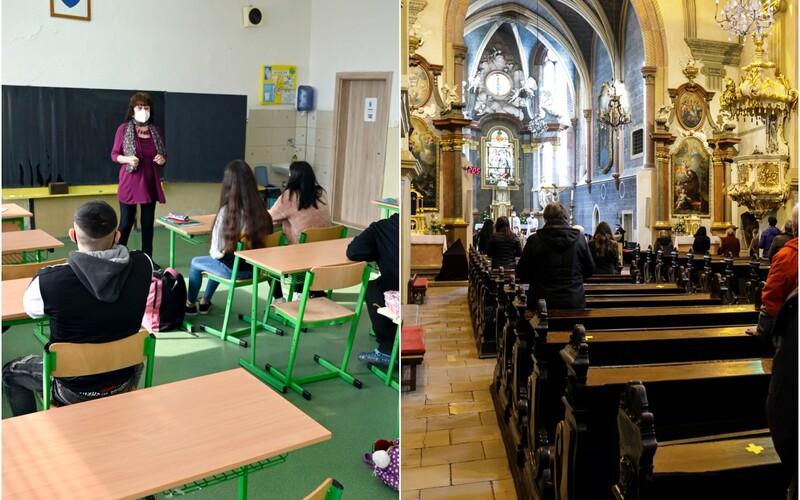 FOTOGALÉRIA: Takto vyzerá návrat do normálu na Slovensku po lockdowne. Otvorili obchody, školy aj kostoly.