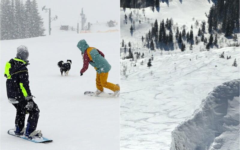 Slovenskí lyžiari porušujú poriadok v národných parkoch. Lyžujú aj snowboardujú načierno.