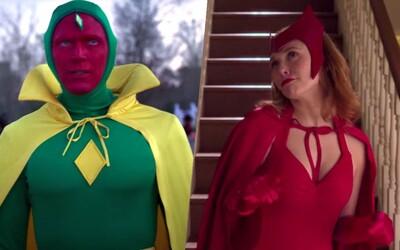 Prvý trailer pre seriál WandaVision spája Scarlet Witch a Visiona. Budú cestovať časom a dimenziami