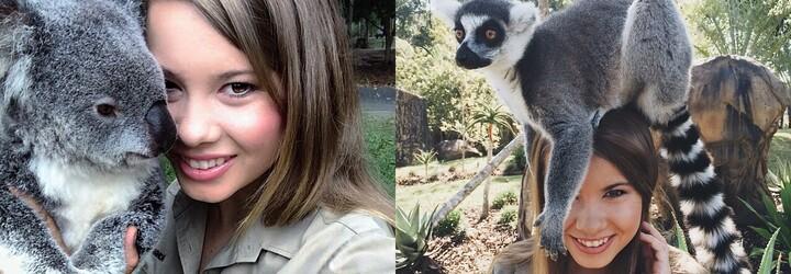 Dcera legendárního Stevea Irwina vyrostla do krásy a pokračuje v šlépějích svého otce
