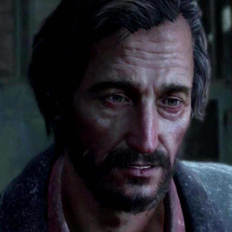 Ako sa volá táto postava z The Last of Us? Nahovoril ju Nolan North, ktorý prepožičal hlas Nathanovi Drakovi z Uncharted