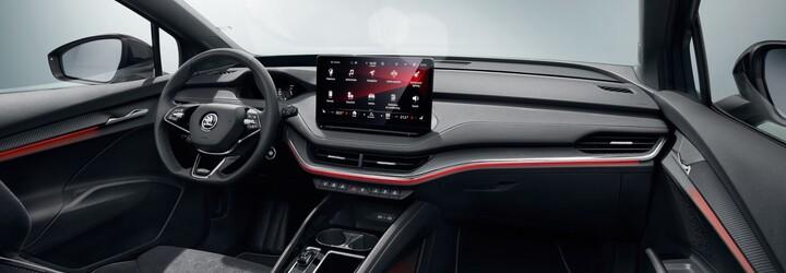 """Nádherná Škoda Enyaq se ukazuje v ještě přitažlivějším balení. Verze Sportline dodává 21"""" disky a černé detaily"""
