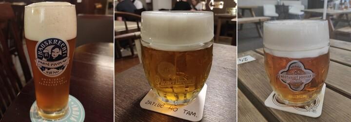 Navštívili sme údajne najlepšie pivné bary v Brne. Mali sme pivo za 1,30 € a obsluhovali nás ako kráľov