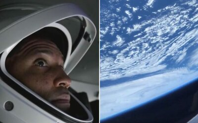 Video: Takto vyzerá pohľad z ISS na Zem. Prvé zábery z vesmíru od astronauta Victora Glovera.