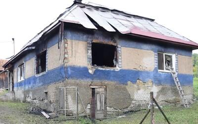 16-ročný Slovák podpálil kopu sena, vyhorel celý dom. Mladík vraj chcel zistiť, čo sa stane, keď škrtne zapaľovačom.