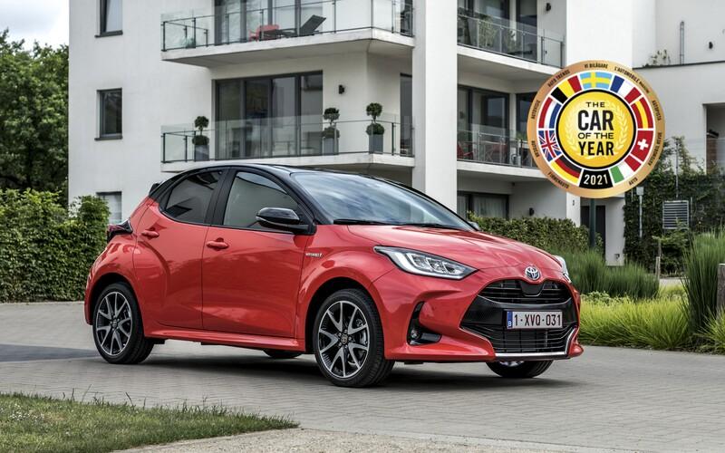 Autom roka 2021 je Toyota Yaris. Po 10 rokoch je tak víťazom iná ako európska značka
