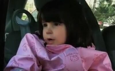 5-ročné dievčatko ťa prekvapí svojím hudobným vkusom!