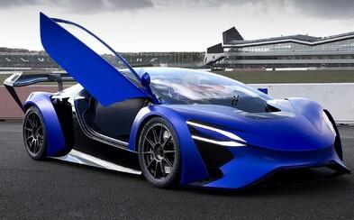 6 elektromotorov, dojazd cez 1900 km a zrýchlenie z nuly na stovku iba za 2,5 sekundy. Čínsky startup ukázal auto z budúcnosti