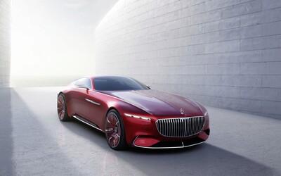 6 metrů ultimátního luxusu, to je předčasně odhalený, velkolepý koncept Vision Mercedes-Maybach 6