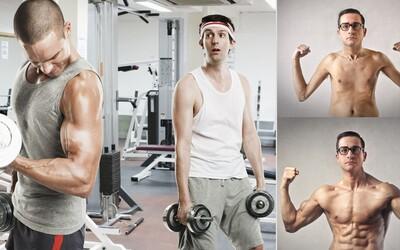 6 najčastejších chýb ľudí, ktorí majú problémy s priberaním a nevedia, ako nabrať svalovú hmotu