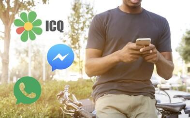 """6 najčastejších spôsobov chatovania internetovej """"doby kamennej"""". Ktoré populárne komunikačné aplikácie ich nahradili"""