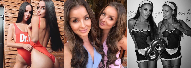 6 najkrajších ženských dvojičiek z našich končín. Tieto identické Slovenky a Češky ťa očaria duplicitnou krásou
