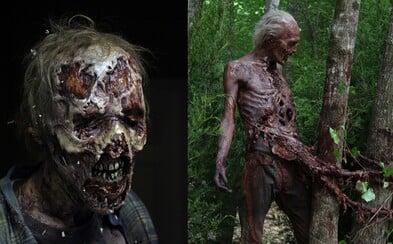 6. séria Walking Dead na nových fotkách odhaľuje odporných walkerov