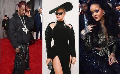 60. ročník předávání cen Grammy provázely roláky, šílené džíny a pohádkové šaty. Které celebrity zaujaly svým stylem nejvíce?