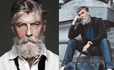 60-ročný chlapík, ktorý svojím štýlom a bradou zaujal modelingový svet. Svoj životný sen si splnil až tesne pred šesťdesiatkou