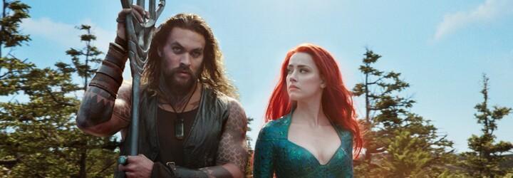 Pokud bude v Aquamanovi 2 Amber Heard, odmítají jít na film. Petici proti herečce podepsaly téměř 2 000 000 diváků