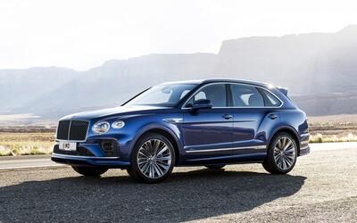 635 koní, stovka za 3,9 sekundy a maximálka 306 km/h. To je vylepšená Bentayga Speed s W12 od Bentley