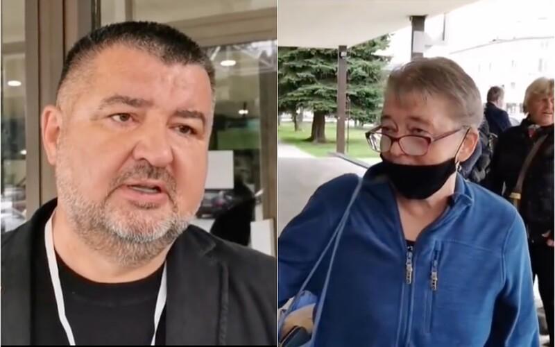 VIDEO: Slovenský lekár vyškolil antivaxerov. Sami priznali, že majú informácie z neoverených zdrojov.