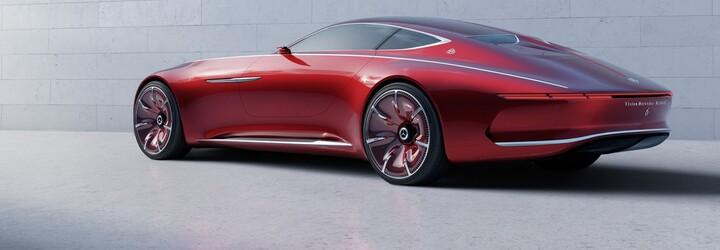 6 metrov ultimátneho luxusu, to je predčasne odhalený, veľkolepý koncept Vision Mercedes-Maybach 6