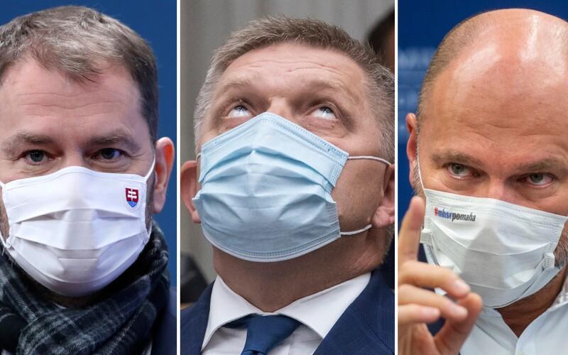 Kto je väčší homofób, Matovič, Sulík alebo Fico? Pozri si zoznam nominovaných na anticenu Homofób roka.