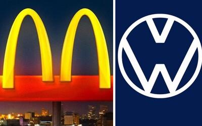 Světové značky změnily svá loga. Chtějí, abys dodržoval odstup a nosil roušku.