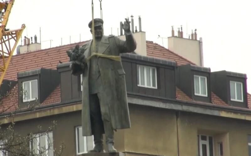 Rusko zahájilo trestní stíhání ve věci odstranění sochy maršála Koněva v Praze.