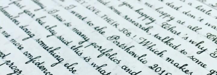 20 neskutočných ukážok rukopisu, pri ktorých budeš váhať, či človek nepoužil počítač. Môžeš sa takým pochváliť aj ty?
