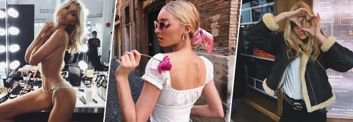 Elsa Hosk je nejstylovější andílek Victoria's Secret. Švédská kráska tě okouzlí vytříbeným vkusem