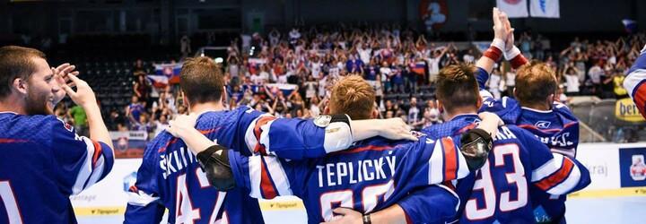 Slovenskí hokejbalisti sú majstrami sveta! V napínavom finále porazili Kanadu a bez jedinej prehry ovládli šampionát