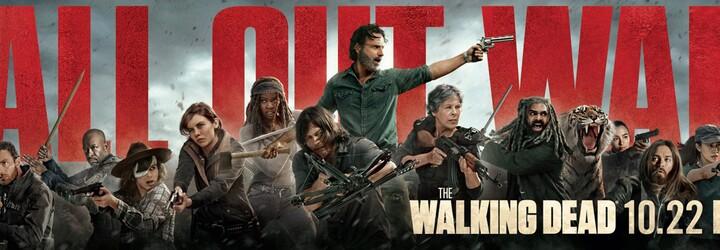 The Walking Dead prezentuje vojnu o všetko na nových fotkách z 8. série. Zomrie v nej konečne Negan alebo Rick a jeho skupina?