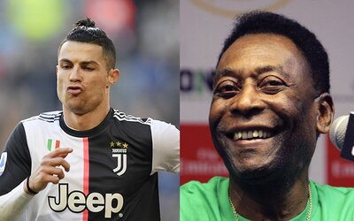 Cristiano Ronaldo je najlepší na svete, ale ja som najlepší v histórii. Pelé sa opäť nezaprel a zabudol dokonca aj na Maradonu.