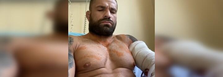 Karlos Vémola je po operácii: lekári potvrdili zlé správy, českého bojovníka budú operovať znovu