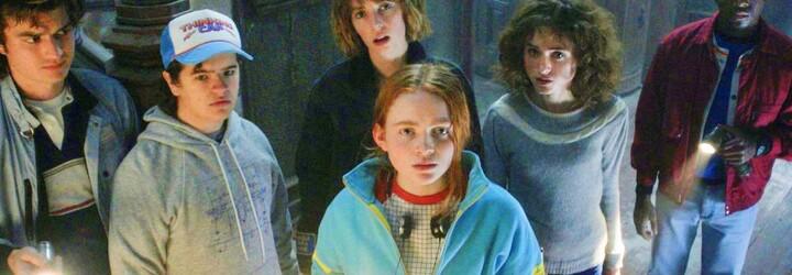 4. séria Stranger Things odhaľuje prvé zábery plné gigantických monštier z Upside Down