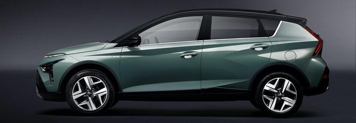 Hyundai ukázal svůj další malý crossover. Zcela nový Bayon chce zaujmout designem a technologiemi