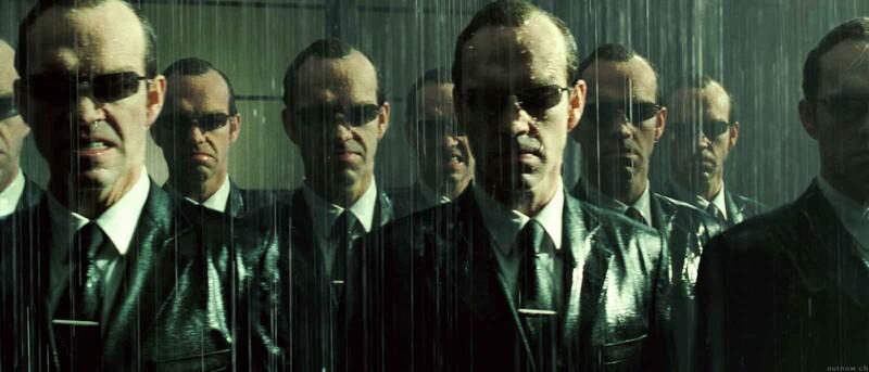Kde porazí Neo agenta Smitha?