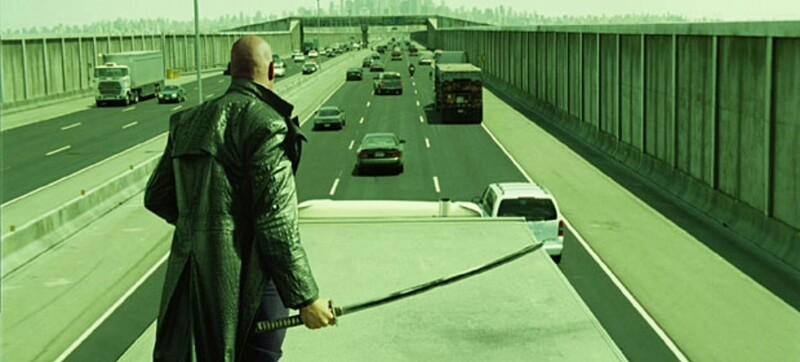Prečo sa mala posádka Morpheusa vyhýbať diaľnici?