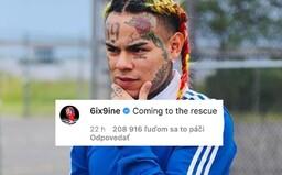 6ix9ine je zpět na Instagramu a trolluje. Chce pomoct udat všechny, kteří porušují karanténu během pandemie