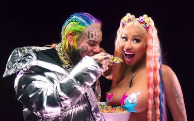 6ix9ine překonal vlastní rekord v počtu zhlédnutí na YouTube za 24 hodin pro rapovou skladbu. Pomohla mu Nicki Minaj