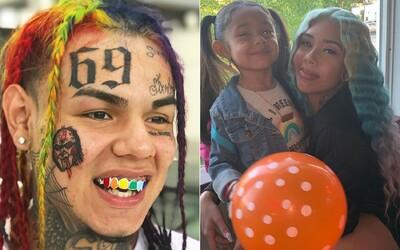 6ix9ine se prý nezajímá o dceru ani po opuštění vězení, tvrdí její matka