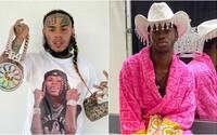 6ix9ine si homofóbnym žartom uťahoval z Lil Nas X-a. Vtipkoval, že raper sa teší z análneho testu na COVID-19