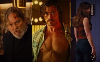 7 cudzincov rozohrá v záhadnom hoteli El Royale hru na pravdu, krv a neľútostný boj o prežitie