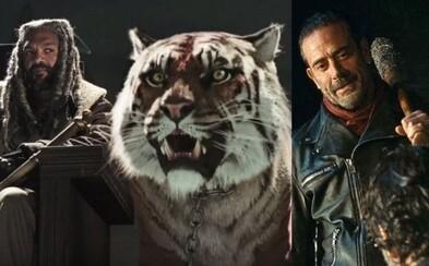 7. séria The Walking Dead predstaví kráľovstvo, jeho kráľa, tigra a chladnokrvného Negana
