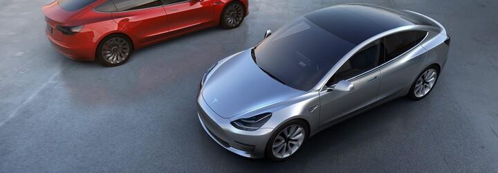 Tesla Model 3 za 35-tisíc je realitou a s ňou aj viac než 115-tisíc predobjednávok!