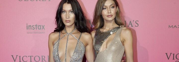Gigi a Bella Hadid spolu pózují ve Vogue úplně nahé. Fotku krásných sester někteří považují za nechutnou