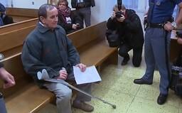 71letý terorista Balda si odsedí čtyři roky natvrdo