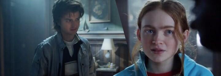 Sleduj mrazivý trailer na 4. sérii Stranger Things. Děti dospěly, citují Sherlocka Holmese a plíží se v strašidelném domě